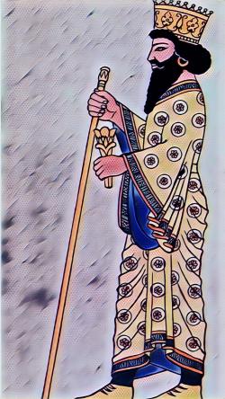 پوشش زنان و مردان در ایران باستان