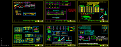 دانلود نقشه اتوکد دیتایل و جزییات اجرایی نقشه های سازه های بتنی